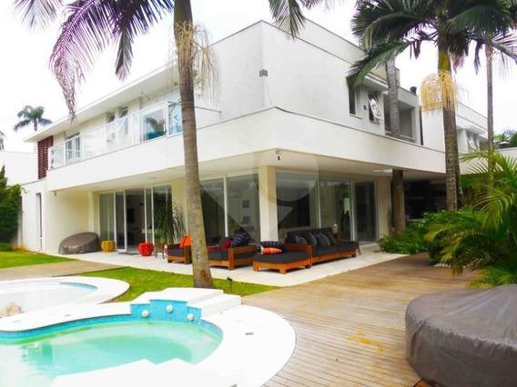Belíssima E Exclusiva Residência Em Condomínio No Alto Da Boa Vista - 375-im93344