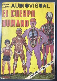 Album Figuritas El Cuerpo Humano Faltan 2 Figus