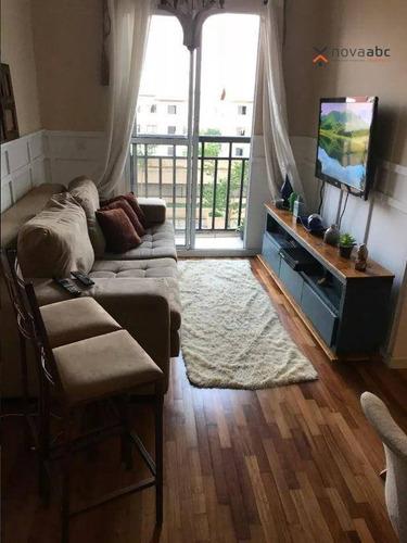 Imagem 1 de 8 de Apartamento À Venda, 60 M² Por R$ 320.000,00 - Parque Erasmo Assunção - Santo André/sp - Ap1601