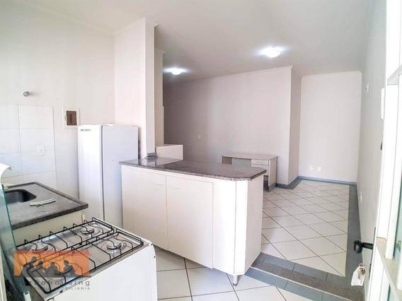 Kitnet Com 1 Dormitório Para Alugar, 15 M² - Barão Geraldo - Campinas/sp - Kn0196