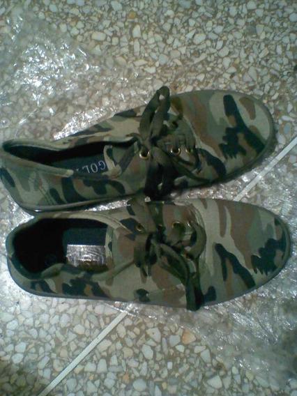 Zapatos Camuflados Nuevos Talla 37