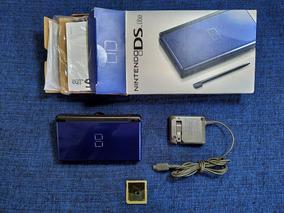 Nintendo Ds Lite Semi Novo Na Caixa+16gb+jogos+brindes