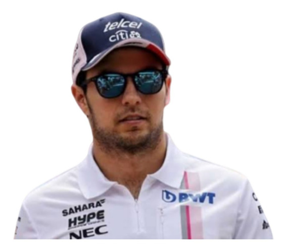 Polo Force India F1 Autentica Checo Perez Versión Full 2018