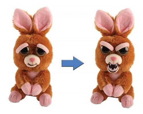 Juguete Peluche Cambia Rostro Conejo