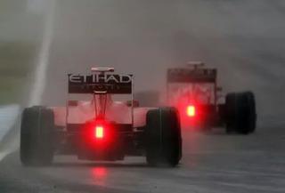 Luz Led Fórmula 1 Strobo Doble Función