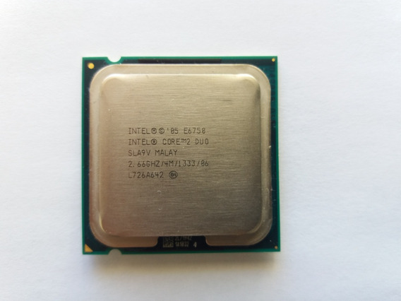 Processador Intel Lga 775 E6750