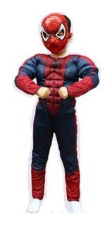Roupa Homem Aranha Fantasia Spiderman Criança