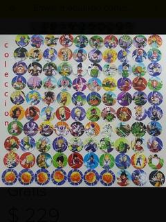Tazos Dragon Ball X-feras 2017 (coleccion Completa)