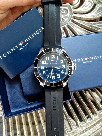 Relógio Tommy Hilfiger Original Na Caixa