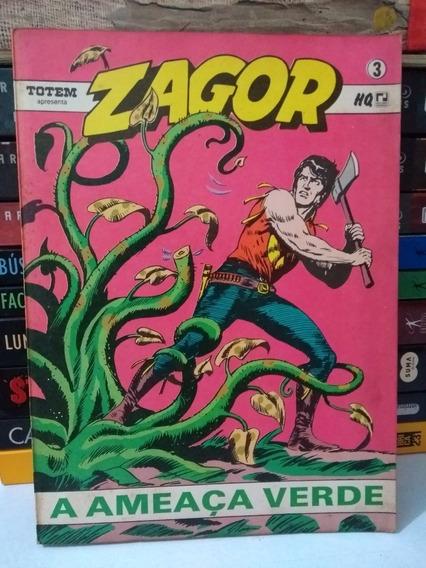 Zagor Nº3 A Ameaça Verde (frete Grátis) Record