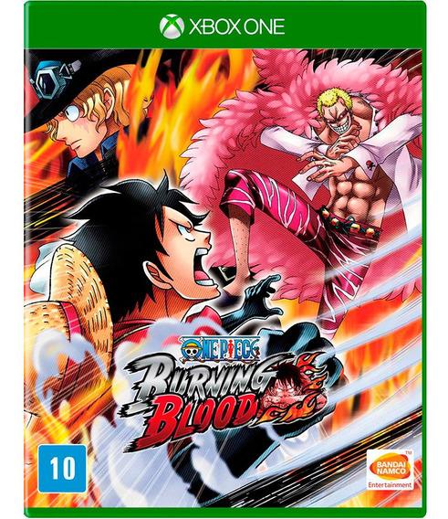 Jogo One Piece Burning Blood Xbox One Mídia Física   Vitrine