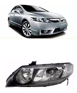 Optica P/ Honda Civic 2006 2007 2008 2009 2010 2011 2012 Izq