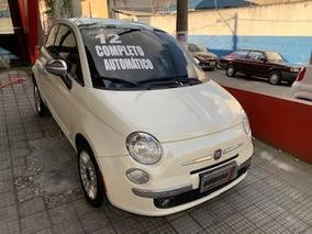Fiat 500 2012 1.4 16v Lounge Air Aut. 3p