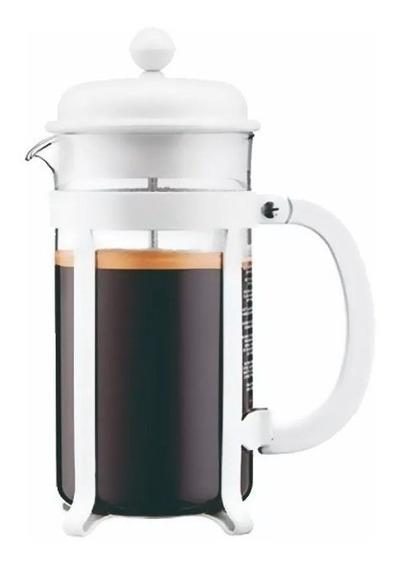 Cafetera Bodum Java Blanca O Negra 8 Pocillos Original