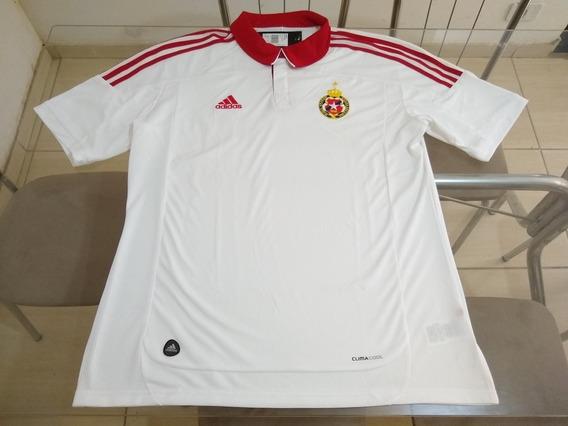 Camisa Time Futebol Wisla Cracóvia Polônia adidas Oficial