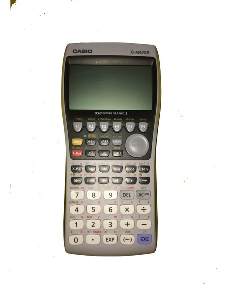 Calculadora Casio: Fx-9860gii