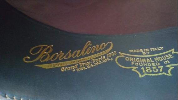 Sombrero Antiguo Tipo Fedora O Bombín Italiano