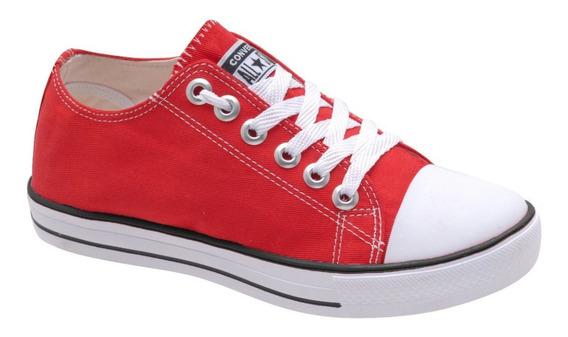 Tenis Allstar Converse Material Lona 34 Ao 43 Unissex Skate
