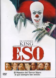 It Eso 1990 Incluye Las 2 Partes Stephen King Pelicula Dvd