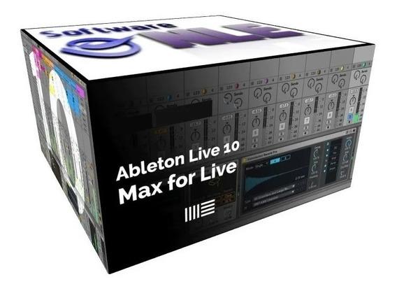 Max For Live Para Ableton Live 10 Full - Entrega Inmediata