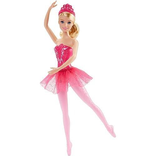 Barbie Fantasia Bailarinas Rosa - Mattel