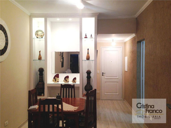 Apartamento Com 3 Dormitórios À Venda, 77 M² Por R$ 340.000 - Jardim Novo Itu - Itu/sp - Ap0092