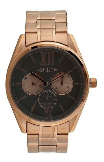 Relógio Euro Eu6p79ae/4c Rosa