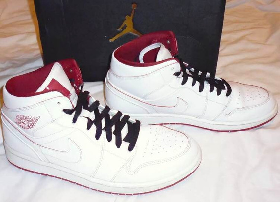 Air Jordan 1 Mid White Gym