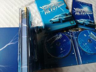 Volver Al Futuro - Trilogia / Edicion De Coleccion 4 Discos