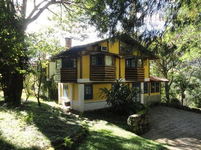 Casa Residencial À Venda, Araras, Petrópolis. - Ca0194