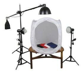 Kit Mini Estudio 45w Still Iluminação Tenda 80x80 110v