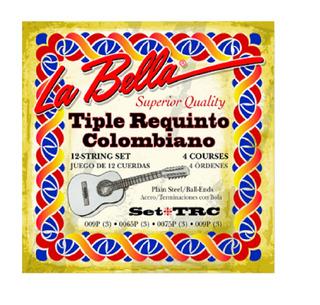 Encordado La Bella Set Trc Tiple Requinto Colombiano