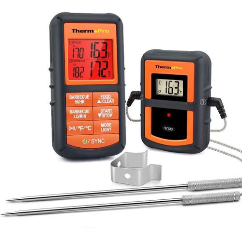 Imagen 1 de 7 de Termometro Digital Inalambrico Cocina Thermopro Carne Horno