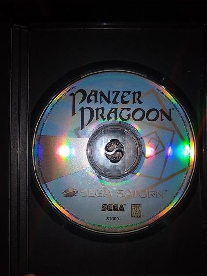 Panzer Dragoon Sega Saturn Original Americano Apenas Cd
