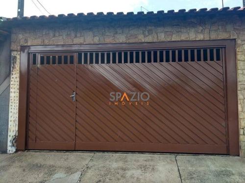 Imagem 1 de 10 de Casa Com 2 Dormitórios À Venda, 82 M² Por R$ 200.000,00 - Jardim Residencial Das Palmeiras - Rio Claro/sp - Ca0283