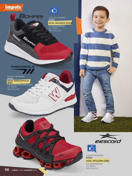 Tenis Impuls Modelo Marcopolo 3892