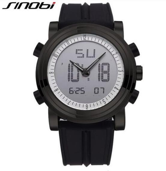 Relógio Masculino Aço Inoxidável Original + Frete Gratis !!!