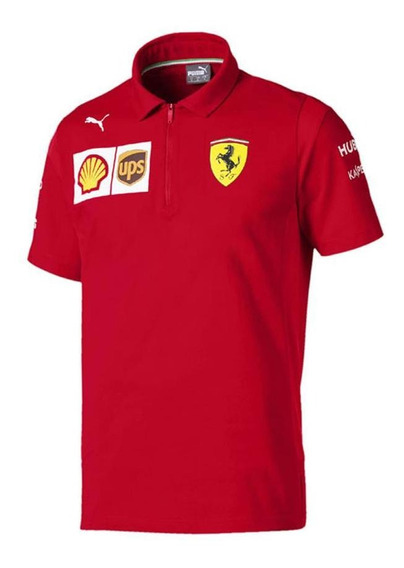 Camisa Polo Puma Ferrari Modelo Nuevo **2019**