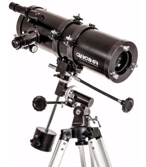 Telescópio 1400150 Equatorial Amplitude 2100x Greika
