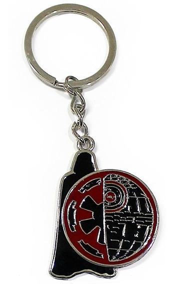 Chaveiro Darth Vader Império Star Wars Estrela Da Morte Geek