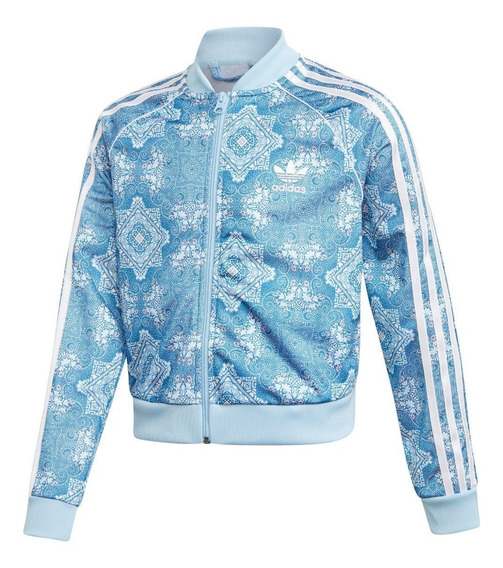 Campera adidas Originals Culture Clash Cropped Sst De Niñas