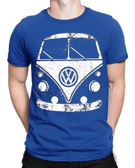 Camiseta Kombi Rat Look Air Cooled Corujinha Vw Perua Fusca
