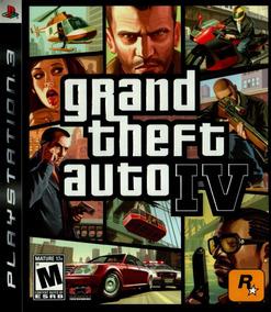 Gta Iv Grand Theft Auto 4 Ps3 Original Mídia Física
