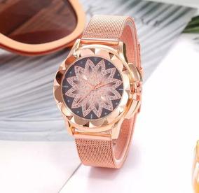 Promoção Relógio Feminino Vansvar. Muito Elegante. + Brinde