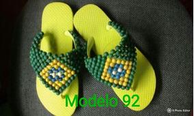 Sandalia Havaianas Customizada