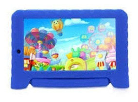 Tablet Multilaser Kid Pad Plus Blue Nb278 8gb Android 7 Wifi