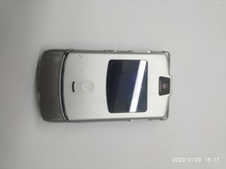 Celular Motorola V3 Antigo (liga Mas Não Dá Imagem) 10 Reais