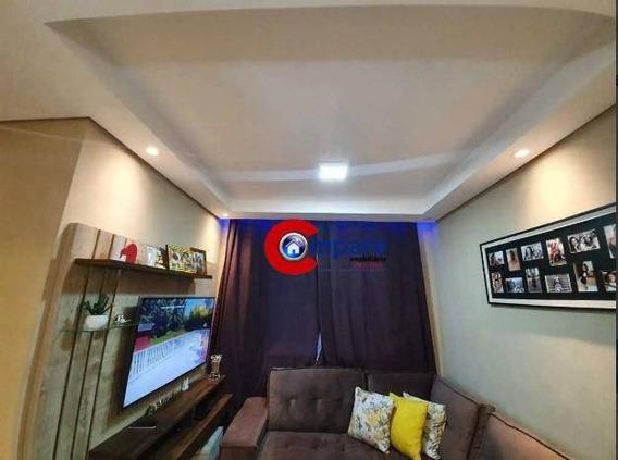 Apartamento Com 2 Dormitórios À Venda, 48 M² Por R$ 210.000 - Bonsucesso - Guarulhos/sp - Ap8856