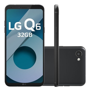 Smartphone Lg Q6 M700tv 32gb Preto Câm 13mp (vitrine)