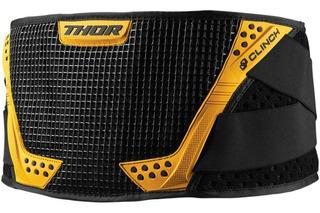Faja Cinturon Thor Clinch Amarillo Adulto Motocross Enduro